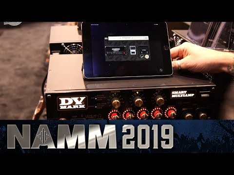 DV Mark Smart Multiamp - Control Your Amp with an App! - NAMM 2019