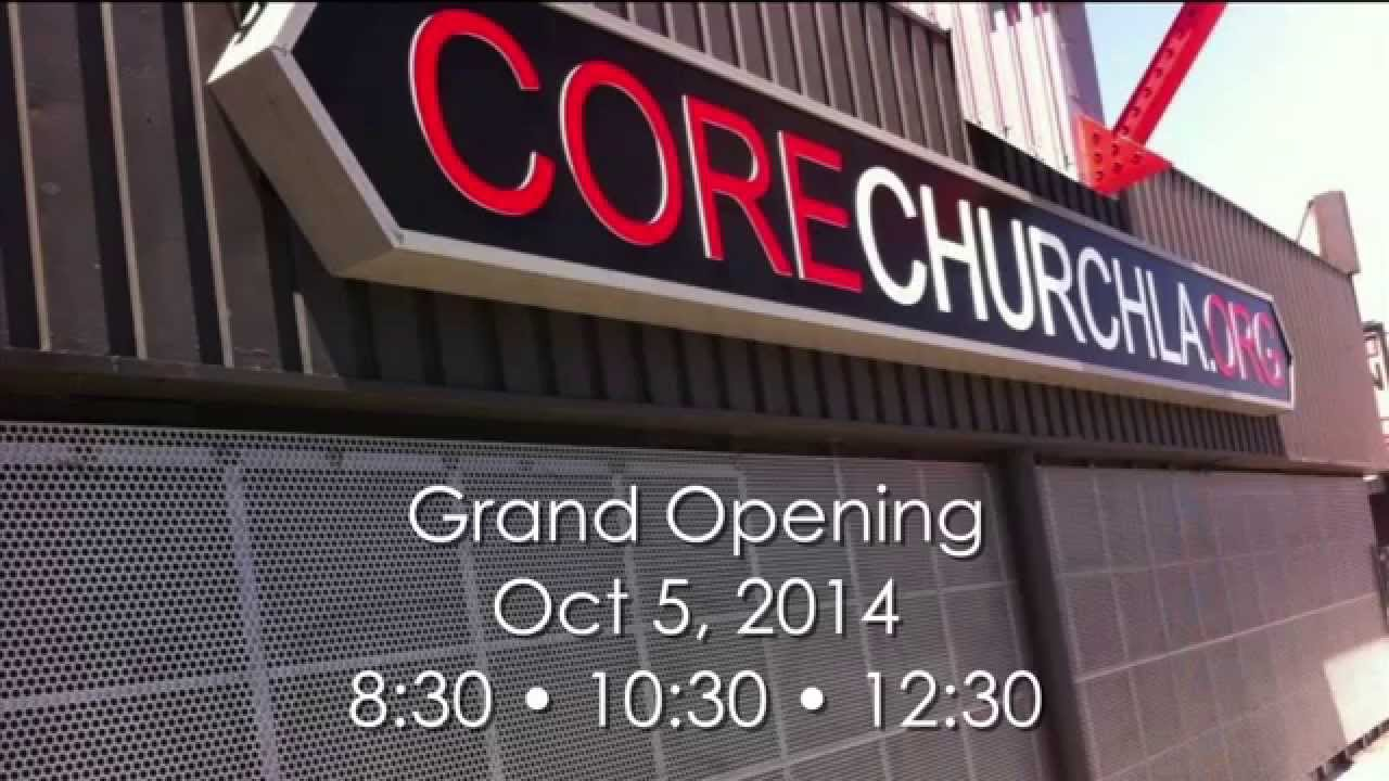 Core Grand Opening Come Visit Invite A Friend Youtube