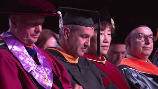 Chairman & CEO Frank Sorrentino III addresses the Stevens Graduate Class of 2019