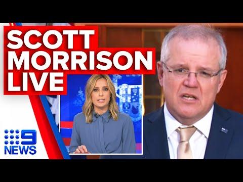 Coronavirus: Scott Morrison On Victoria Outbreaks, Hotspot Lockdown, JobSeeker   9 News Australia