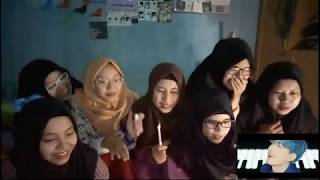 BTS Boy With Luv feat Halsey MV Reaction INDONESIA