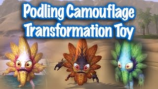 Jessiehealz - Podling Camouflage Transformation Toy Guide (World of Warcraft)