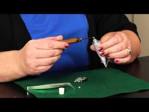 How to Glue Gems Onto Costume Jewelry : Jewelry Crafts