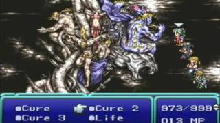 Final Fantasy VI (PlayStation) - Final Battle & Ending