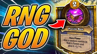 GUIDE: How To WIN In Hearthstone Battlegrounds with RNG | HS Auto Battler