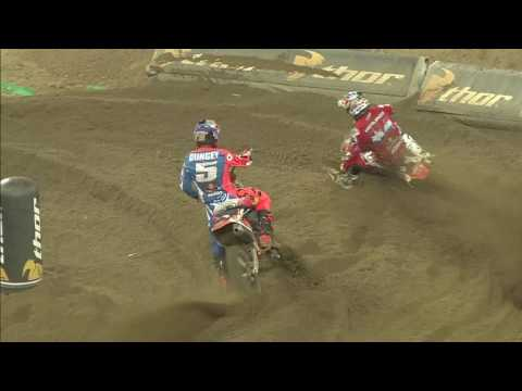 Tixier passes SMX Riders' Cup VELTINS motocross video