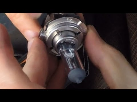 Ford Fiesta Mk7 Headlight Wiring Diagram For Lights In A House How To Replace Dipped Beam Bulb On Youtube