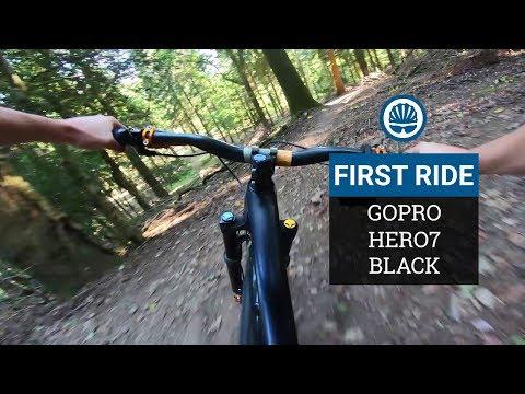 GoPro HERO7 First Ride - Gimbal-Killer Stabilisation?