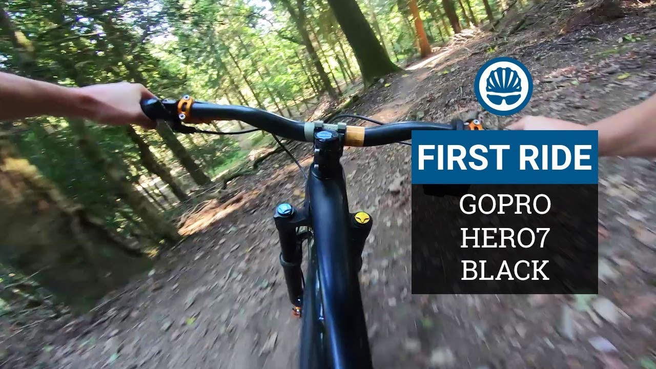 GoPro HERO7 First Ride - Gimbal-Killer Stabilisation?
