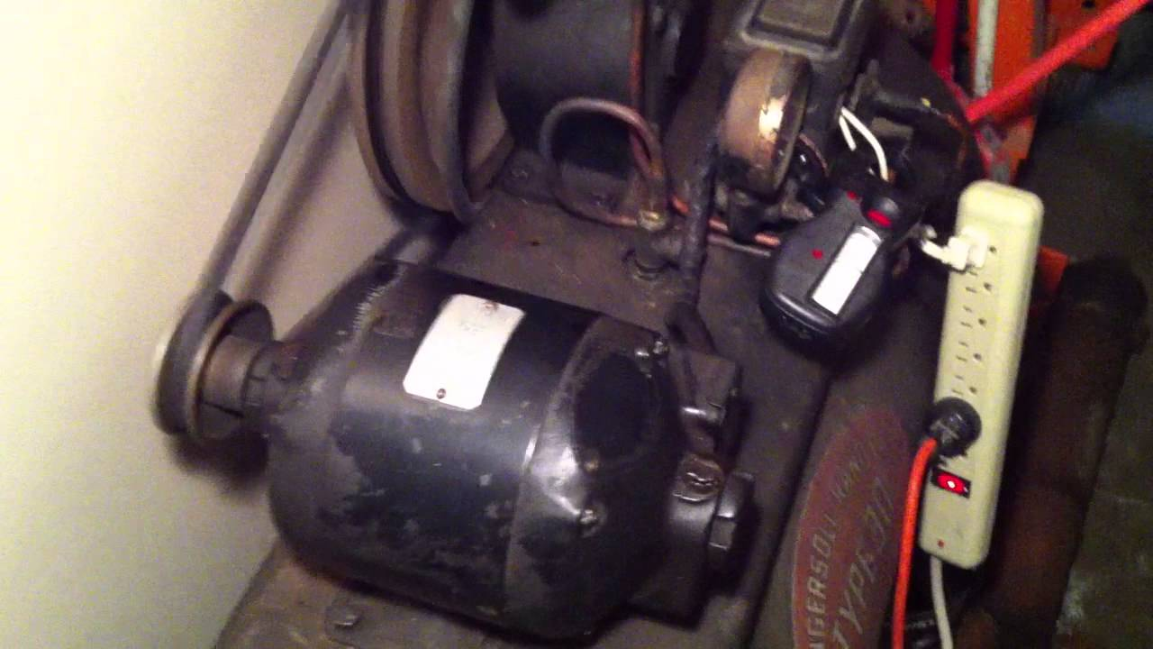 Ingersoll Rand Co Type 30 Air Compressor Model A Pump