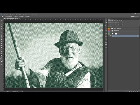 Engraver Photoshop Action Guide