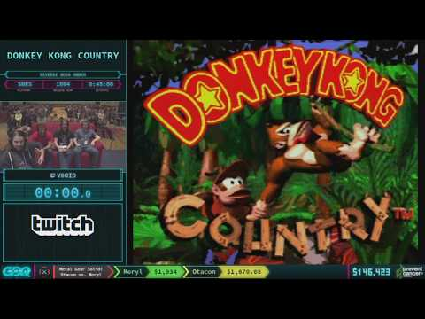 Donkey Kong Country by V0oid in 46:11 - AGDQ 2018 - Part 26