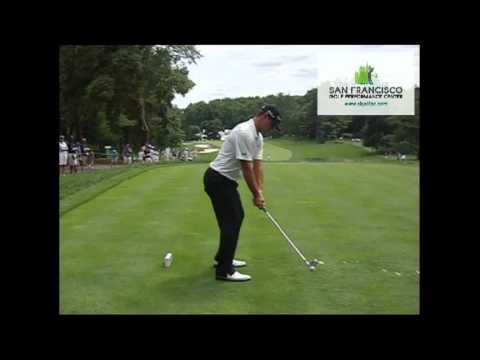 Gary Woodland DL 2-Iron Slow Motion Golf Swing 240 FPS