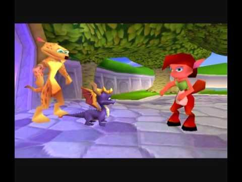 Spyro 2 Riptos Rage THE MOVIE YouTube