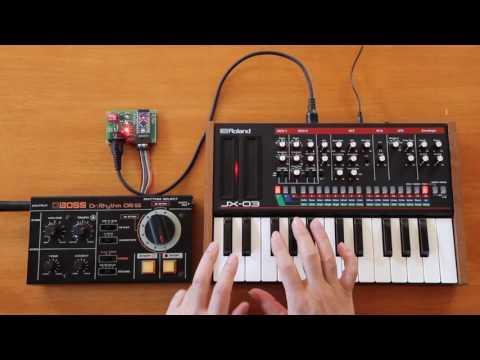 DR-55 MIDI Sync Version 2