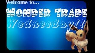 Wonder Trade Wednesday! (Pokemon USUM Livestream)