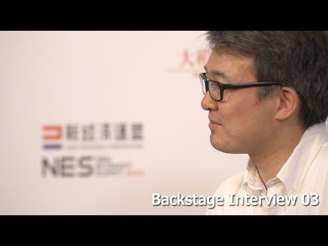 James Park Fitbit, Backstage Interview 03 -NES2014-