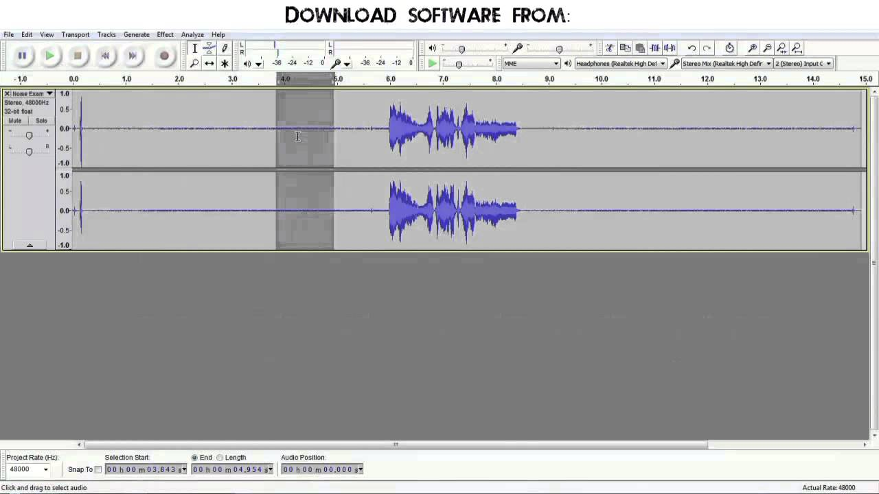 Sound & audio software download free programs.