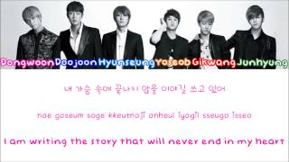 B2ST/BEAST (비스트) – FICTION Color Coded Lyrics [Rom/Eng/Han] 1080p