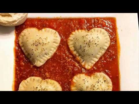 VEGAN VALENTINE'S DAY RAVIOLI with 8 year old Chef Kylee