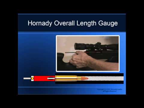 Hornady Overall Length Gauge and Bullet Comparator