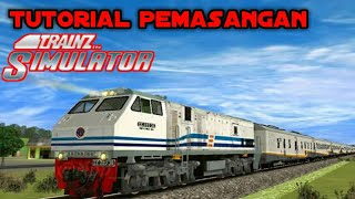 Cara memasang game trainz simulator, tanpa file data 100% work.