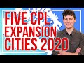 Top Five CanPL Expansion Cities For 2020