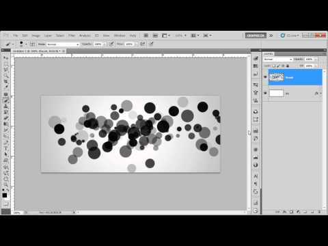 Create A Random Circles Brush _ Photoshop Tutorial