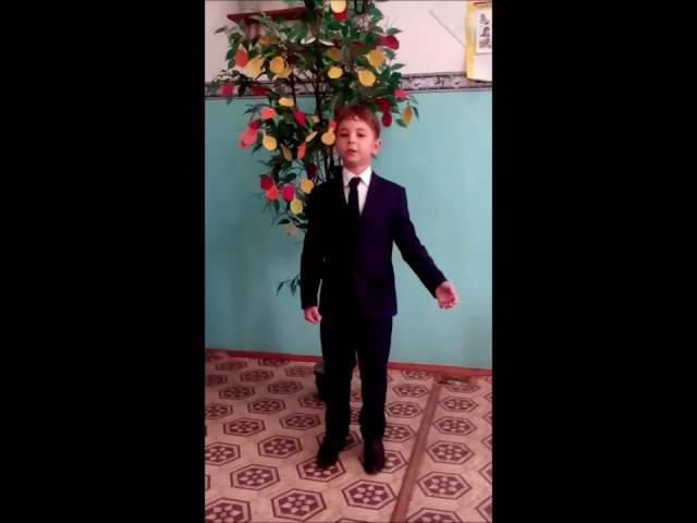 Приходько Илья читает произведение «Листопад» (Бунин Иван Алексеевич)