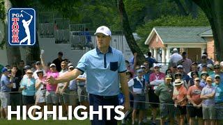 Jordan Spieths highlights  Round 1  Charles Schwab 2019