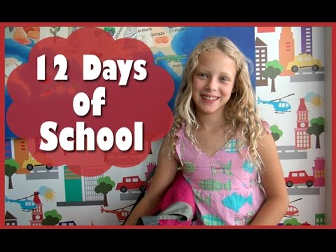Back to School PARODY  12 Days of School