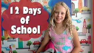 12 DAYS OF SCHOOL - 12 Days of Christmas Parody