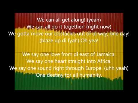 Alborosie- One Sound Lyrics