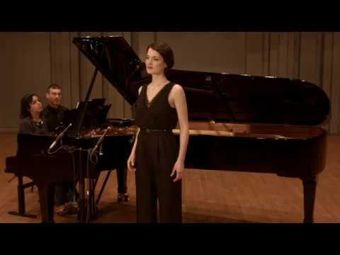 Beau soir - Debussy (Bourget) Natalie Pérez, Justine Verdier