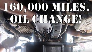 Chrysler 300: 160k Mile Oil Change