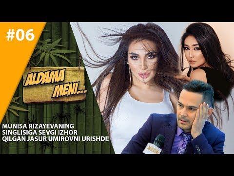 Aldama Meni 6-son Munisa Rizayevaning singlisiga sevgi izhor qilgan Jasur Umirovni urishdi!