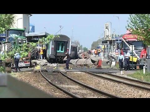 Seine-et-Marne: un train entre en collision avec un camion et fait une trentaine de blessés