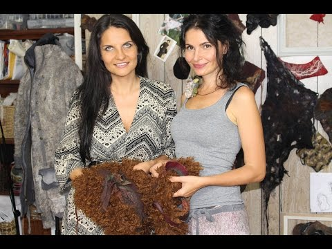 Design Your Life With Katya Avdeev Ep 3, with wool artist Irena Levkovich