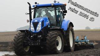 Podsumowanie roku / sezonu w 3 min. - Jaszkowo 2014 (cz.1) New Holland T7.210