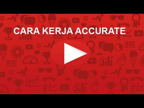 Tutorial accurate accounting software