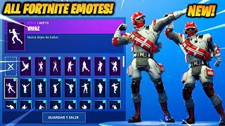 """Triage Trooper"" SKIN SHOWCASE AVEC 60 FORTNITE DANCES - EMOTES..!!"
