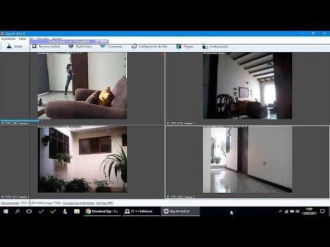Conectar 2, 3, 4 Celulares O Tablets Al PC Para Vigilancia Y Ver Cámaras En El Móvil