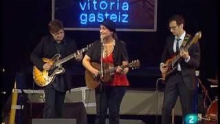 """Madeleine Peyroux """"Instead"""" Live in Vitoria jazz festival 2009"""