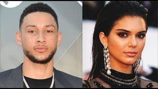 76ers F Ben Simmons Goes FULL S.I.M.P For Kendall Jenner After She Left Him