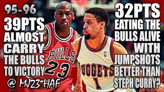 Michael Jordan vs Mahmoud Abdul-Rauf Highlights (1996.02.04)-71pts All!RAUF BETTER THAN STEPH CURRY?