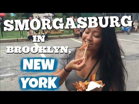 SMORGASBURG FOOD VLOG - BROOKLYN, NEW YORK