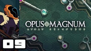 Let's Play Opus Magnum - PC Gameplay Part 9 - Low Cost, Low Area, Perfect