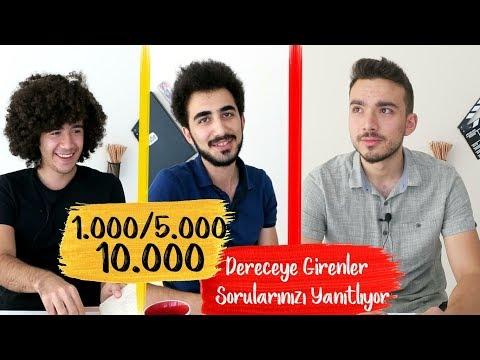 #PK3 İlk 1000/ İlk 5000/İlk 10.000 Dereceye Girenler, Sorularınızı Yanıtlıyor