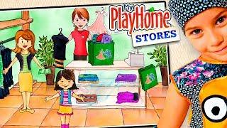 СМЕШНОЕ ВИДЕО ДЛЯ ДЕТЕЙ Новый игровой мультик ПРО МАГАЗИНЫ детская игра My PlayHome Stores