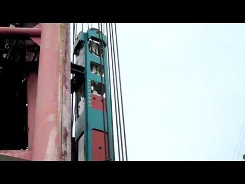 Hydraulic Impact Hammer HHP35 ton for Hongkong-Macao-Zhuhai Bridge' piling work